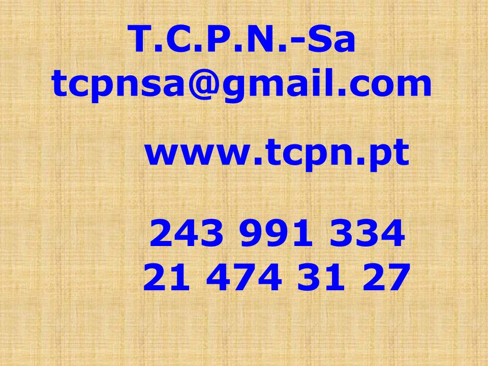 T.C.P.N.-Sa tcpnsa@gmail.com