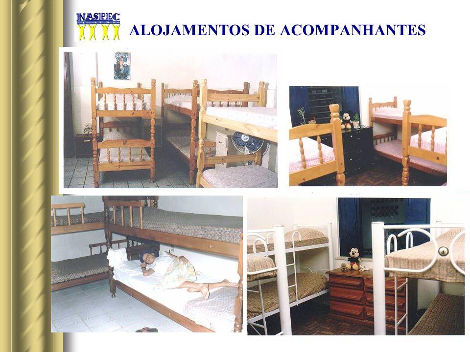 ALOJAMENTOS DE ACOMPANHANTES