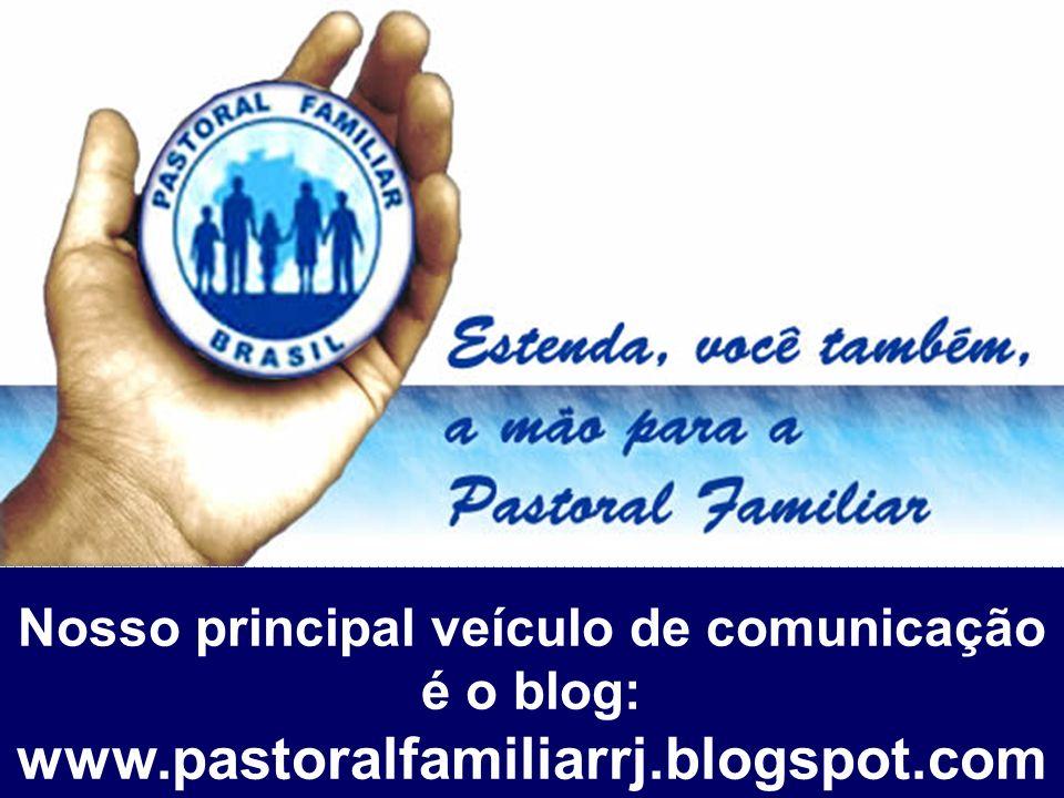 Nosso principal veículo de comunicação é o blog: