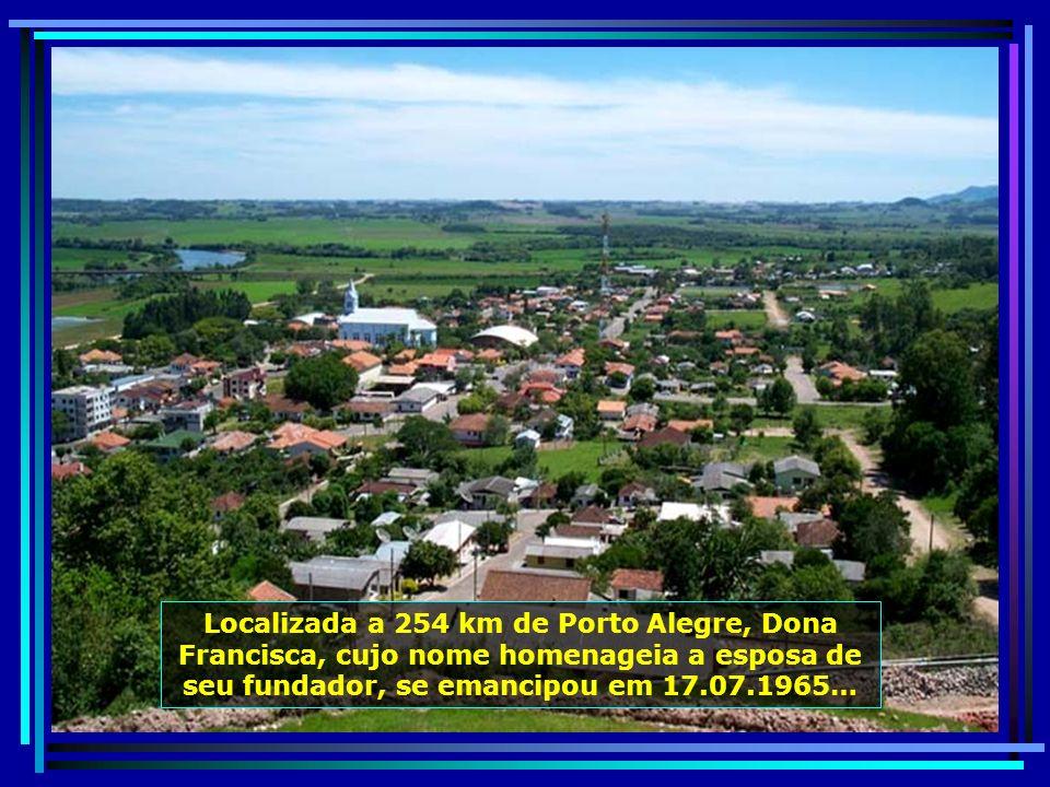 P0010413 - S. J. POLÊSINE - DONA FRANCISCA - MIRANTE E TELEFÉRICO-650