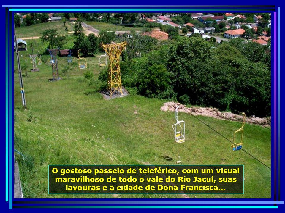 P0010417 - S. J. POLÊSINE - DONA FRANCISCA - MIRANTE E TELEFÉRICO-650