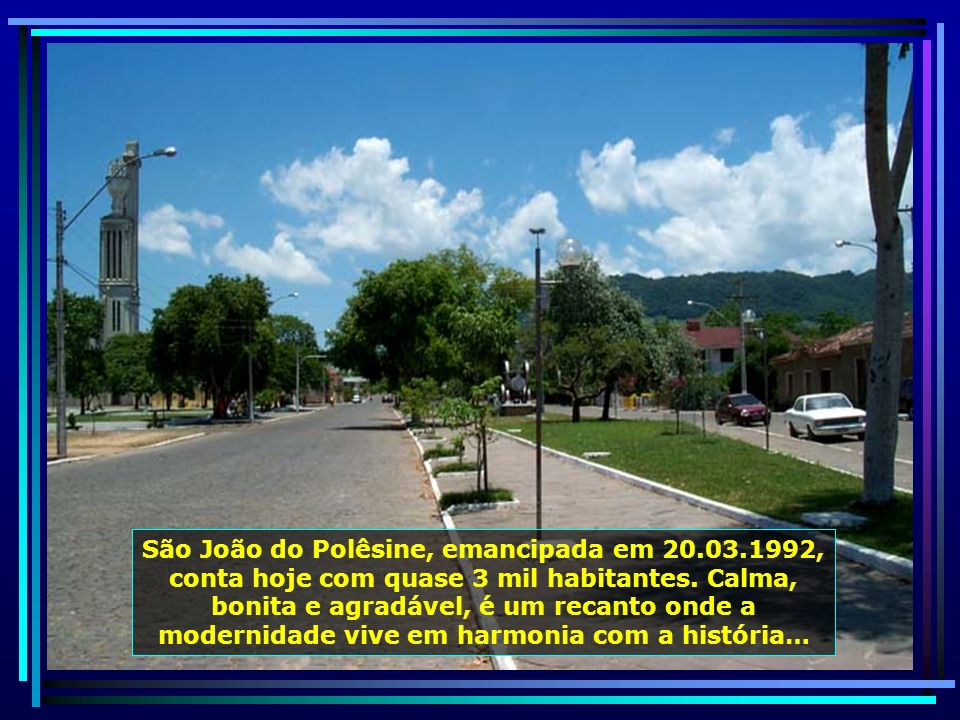 P0010953 - S. J. POLÊSINE - CIDADE-650