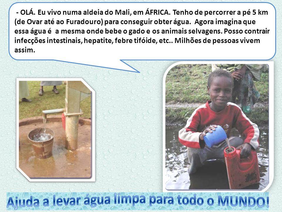 Ajuda a levar água limpa para todo o MUNDO!