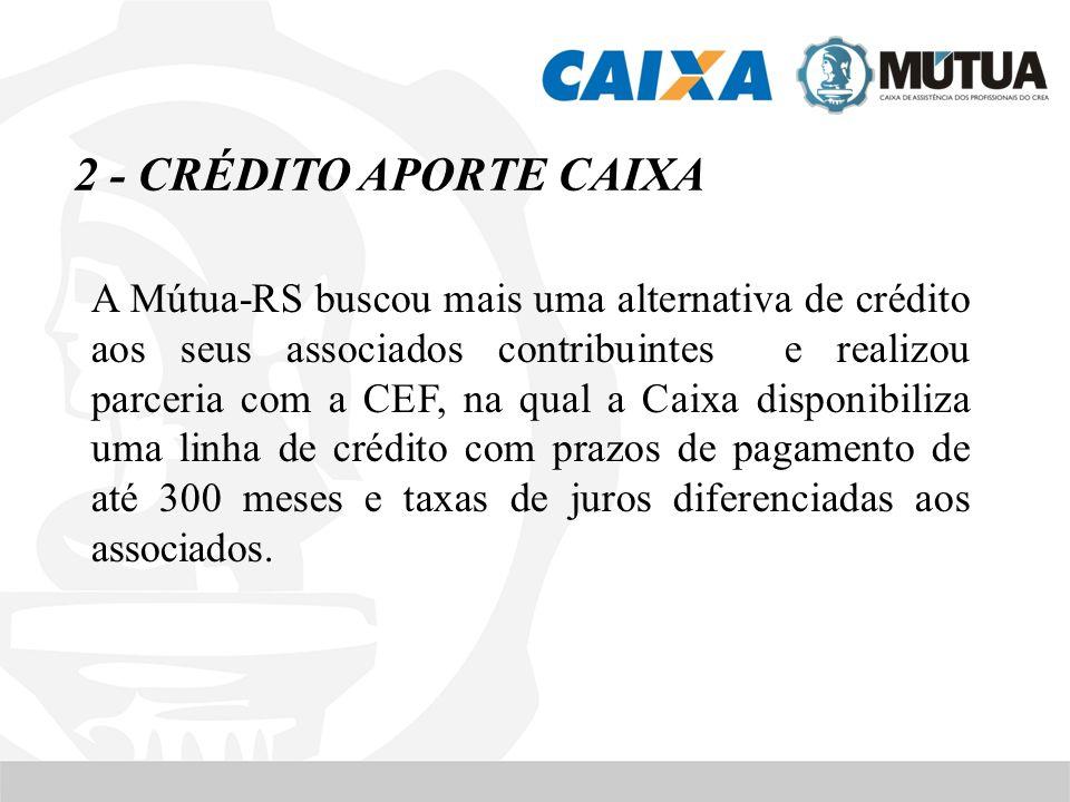 2 - CRÉDITO APORTE CAIXA