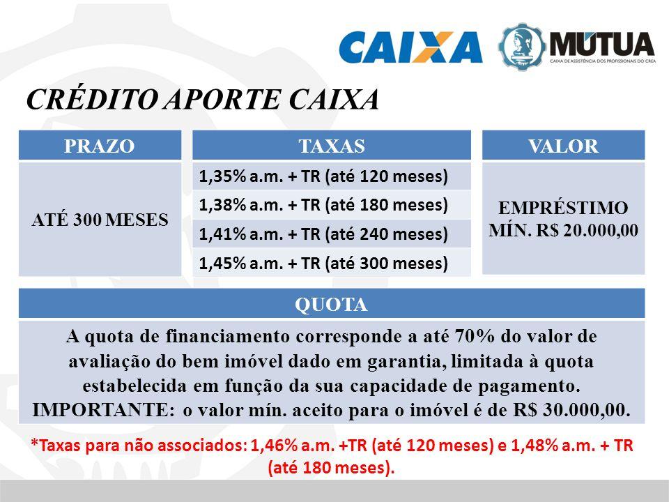 IMPORTANTE: o valor mín. aceito para o imóvel é de R$ 30.000,00.