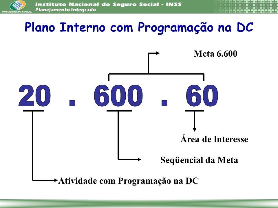 Plano Interno com Programação na DC
