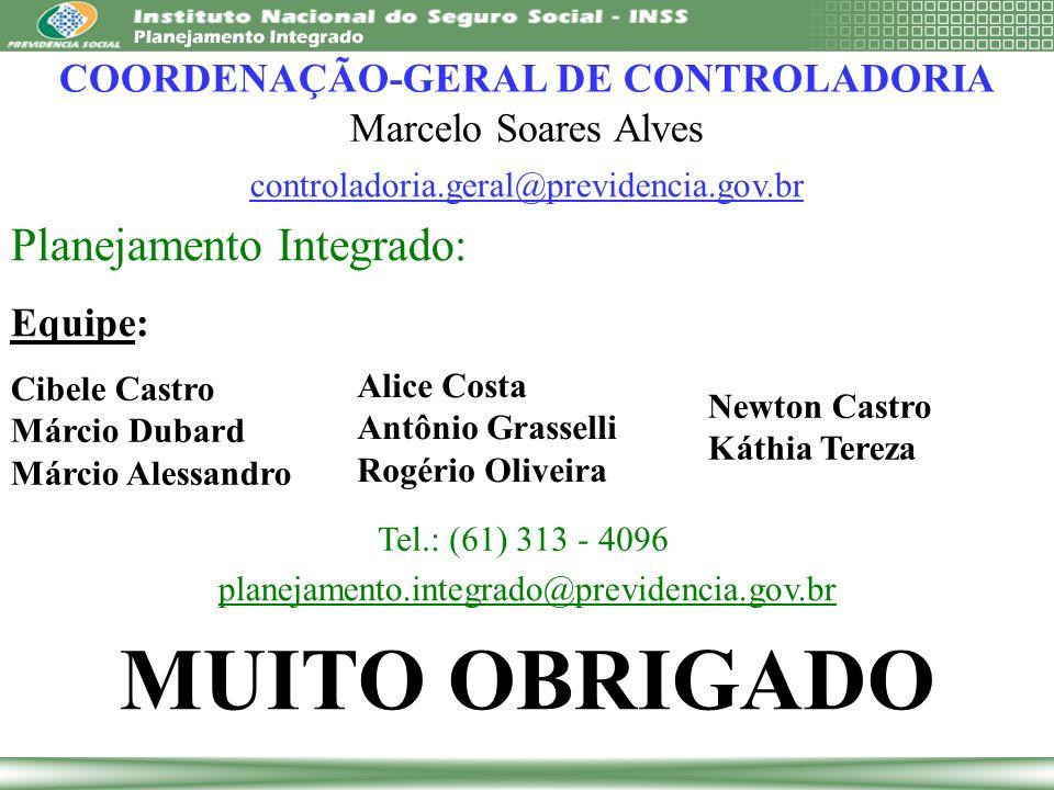 COORDENAÇÃO-GERAL DE CONTROLADORIA