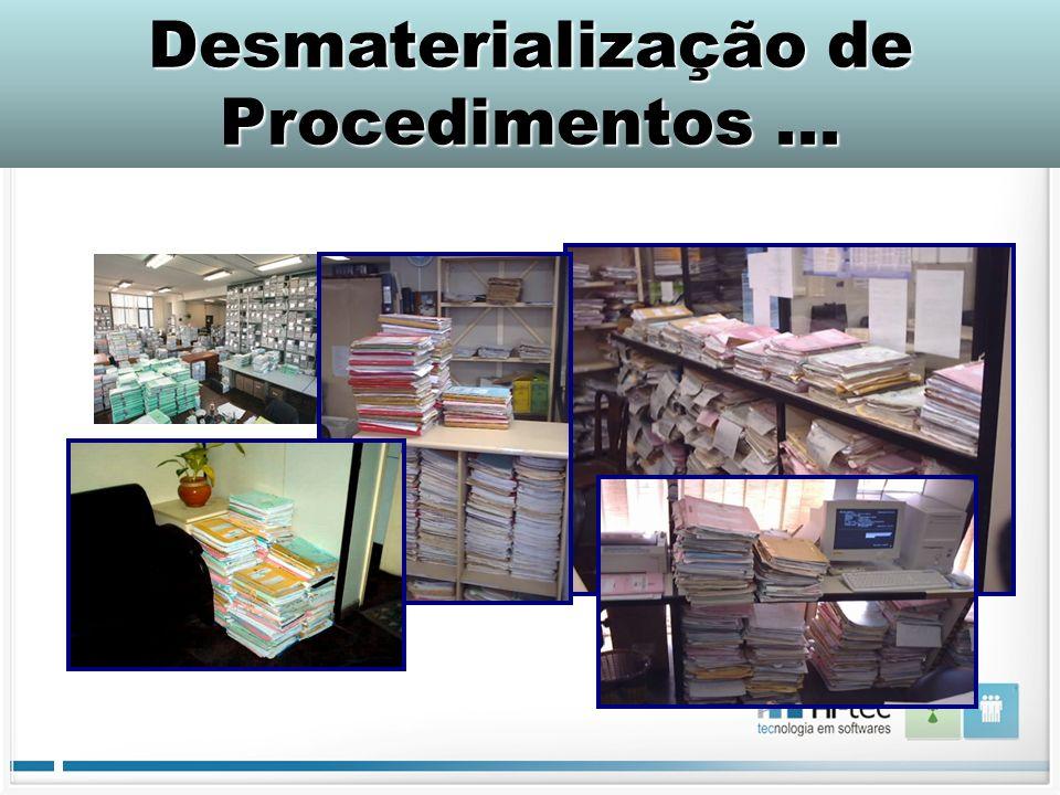 Desmaterialização de Procedimentos ...