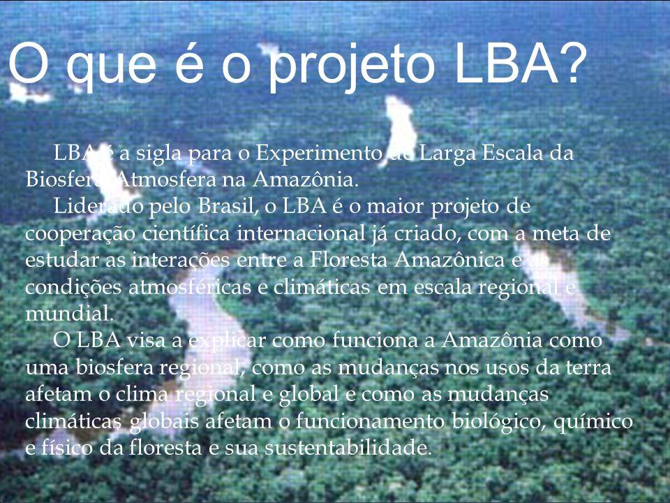 O que é o projeto LBA