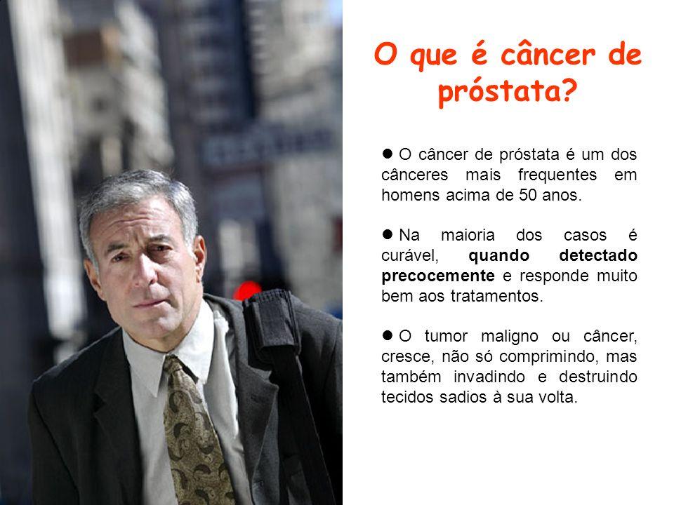 O que é câncer de próstata