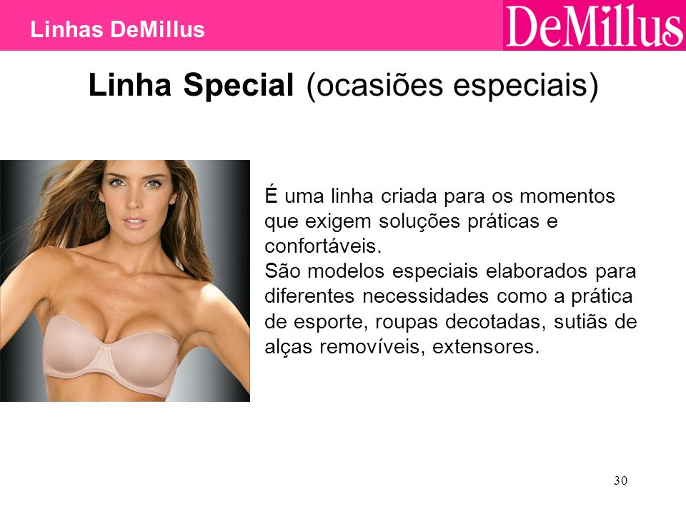 Linha Special (ocasiões especiais)