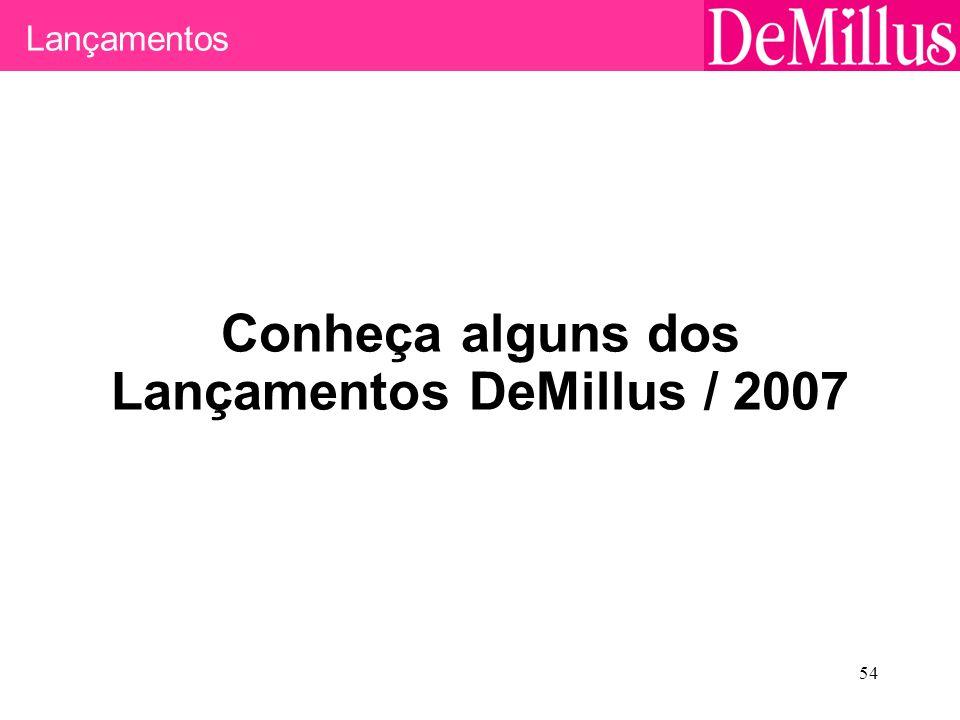 Conheça alguns dos Lançamentos DeMillus / 2007