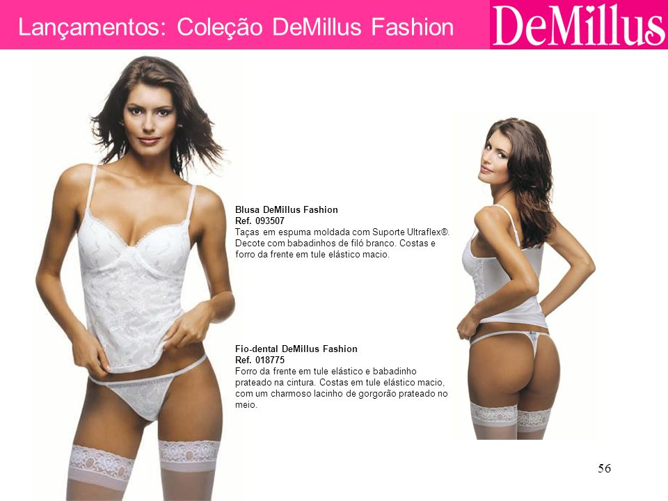 Lançamentos: Coleção DeMillus Fashion