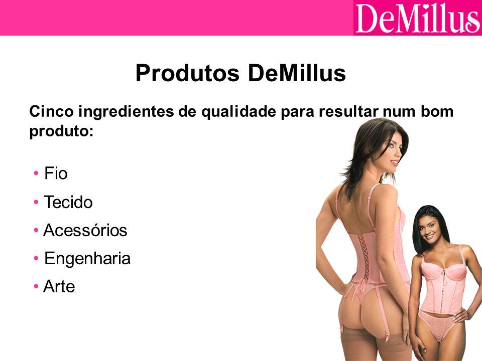 Produtos DeMillus Fio Tecido Acessórios Engenharia Arte