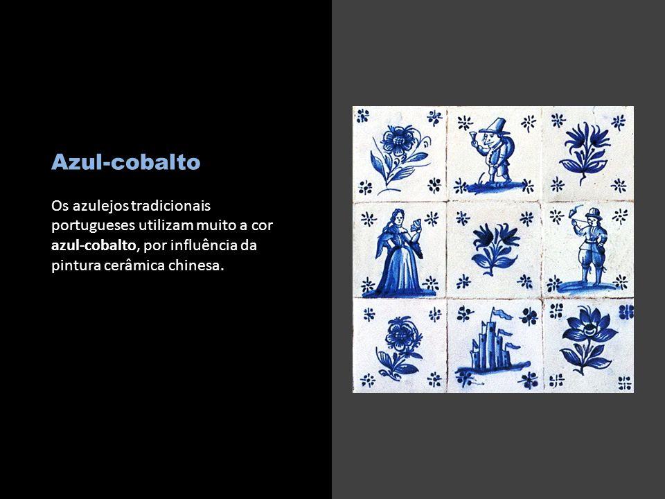 c Azul-cobalto.