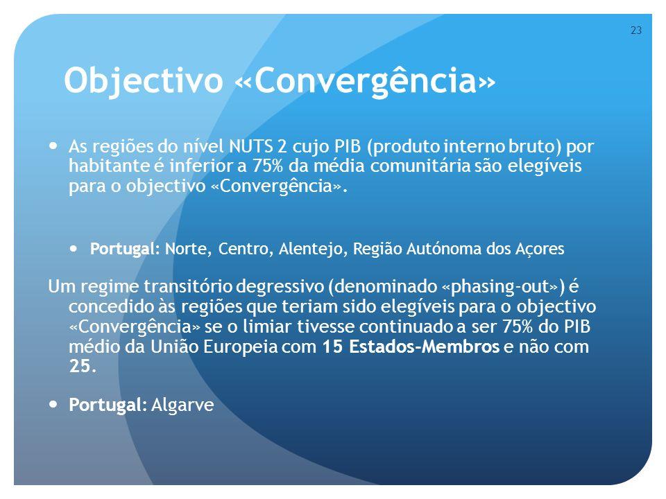 Objectivo «Convergência»