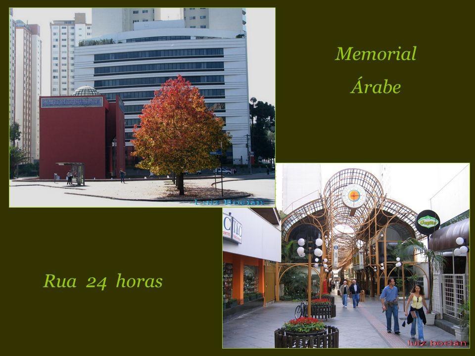 Memorial Árabe Rua 24 horas