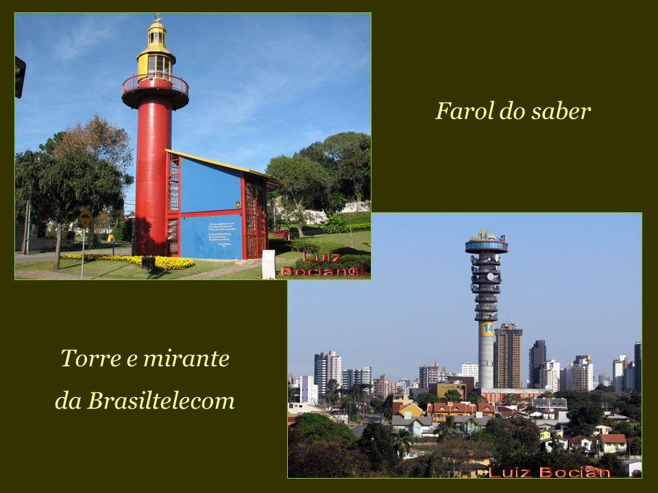 Farol do saber Torre e mirante da Brasiltelecom