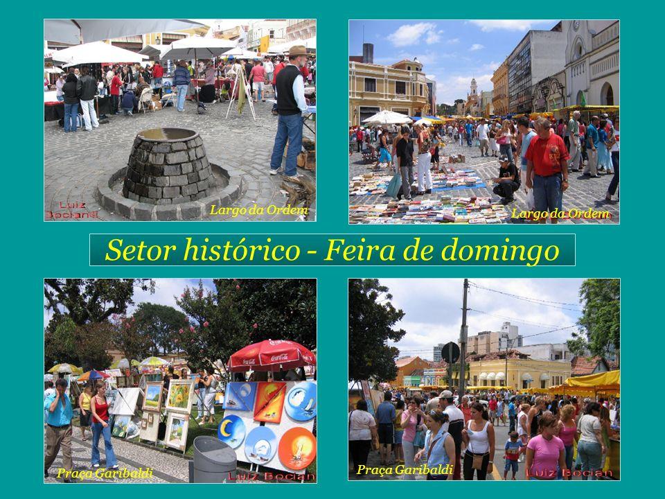 Setor histórico - Feira de domingo