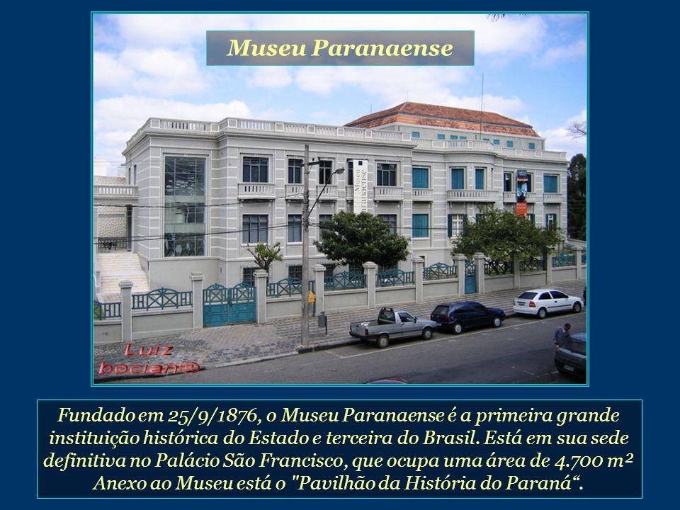 Anexo ao Museu está o Pavilhão da História do Paraná .
