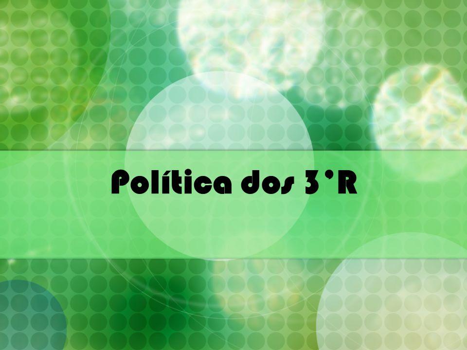 Política dos 3'R