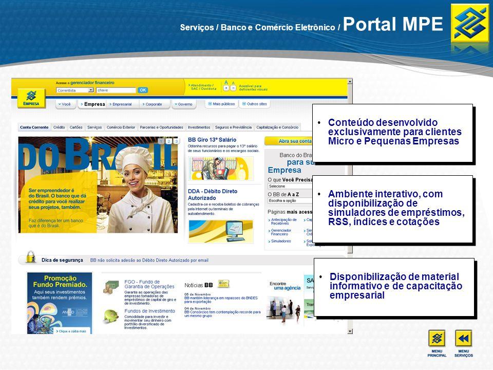 Disponibilização de material informativo e de capacitação empresarial