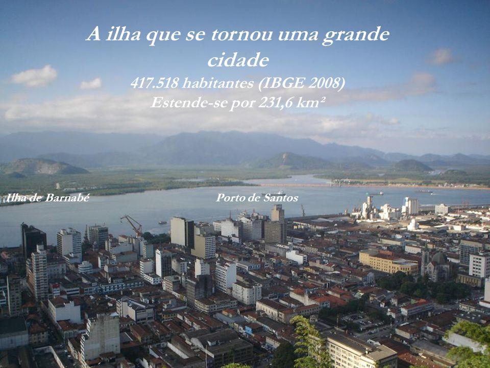 A ilha que se tornou uma grande cidade
