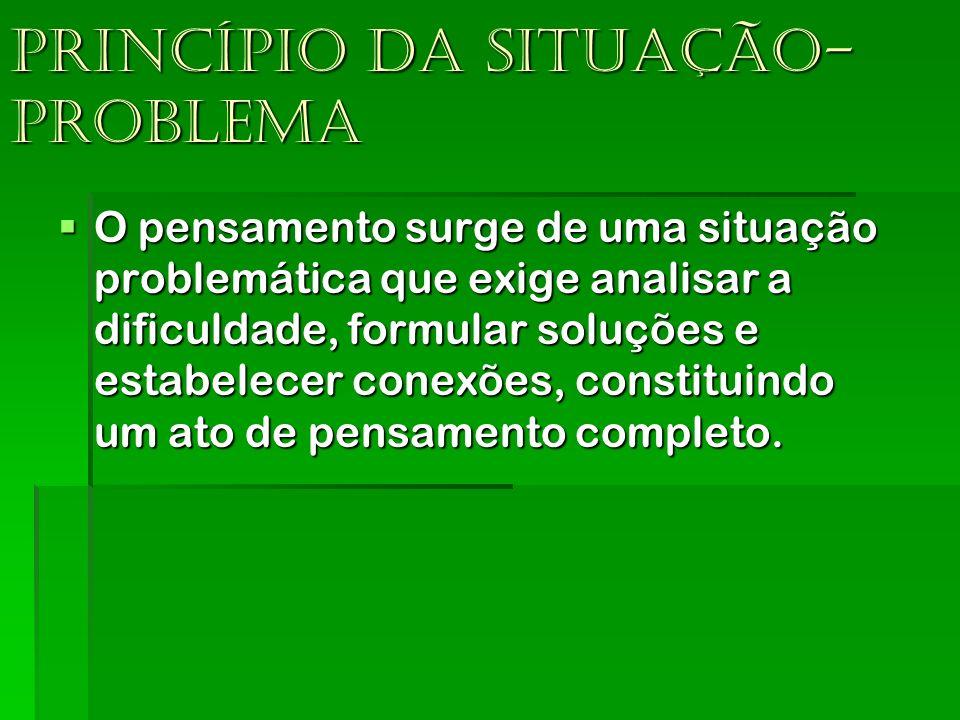 Princípio da situação-problema