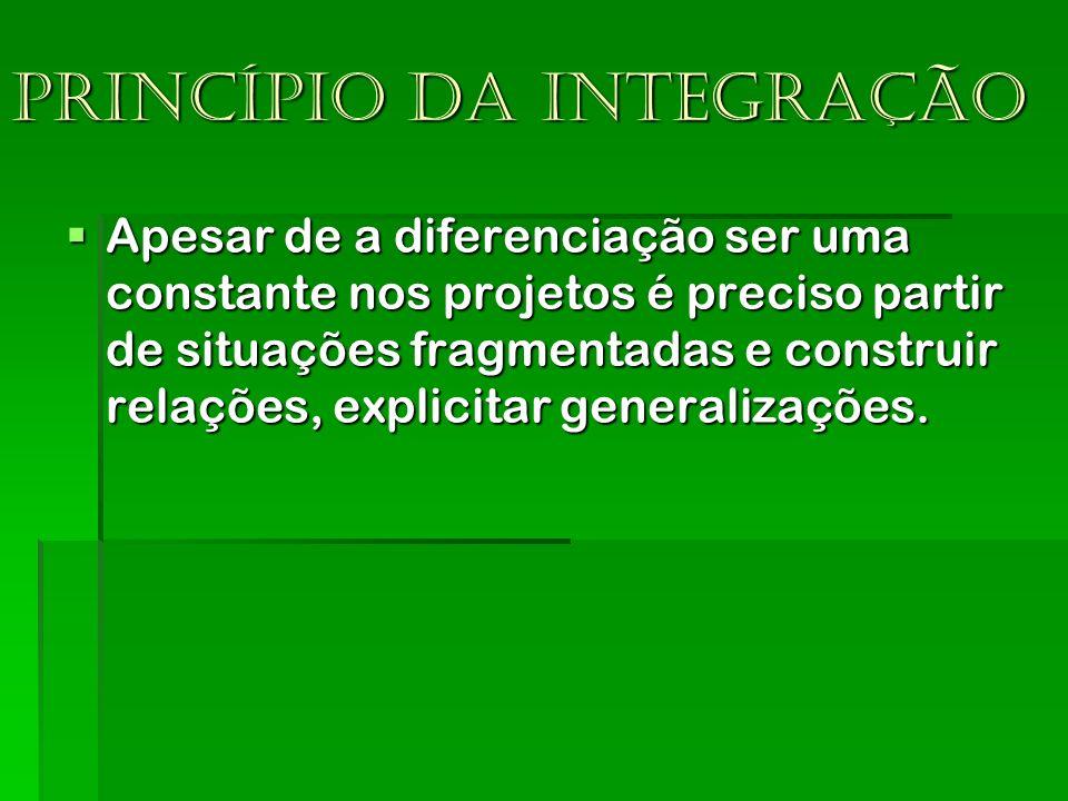 Princípio da integração