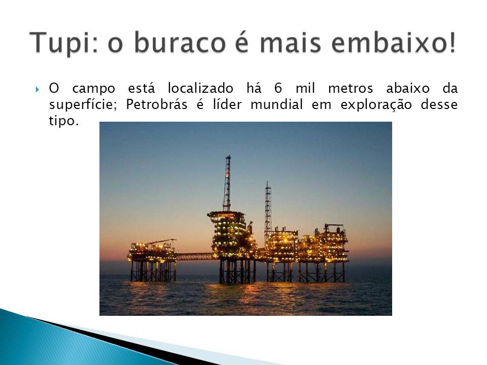 O campo está localizado há 6 mil metros abaixo da superfície; Petrobrás é líder mundial em exploração desse tipo.