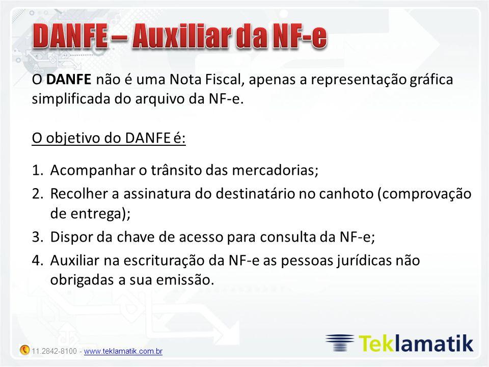 DANFE – Auxiliar da NF-e