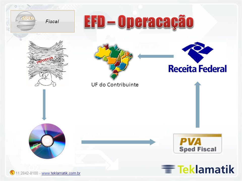 EFD – Operacação UF do Contribuinte