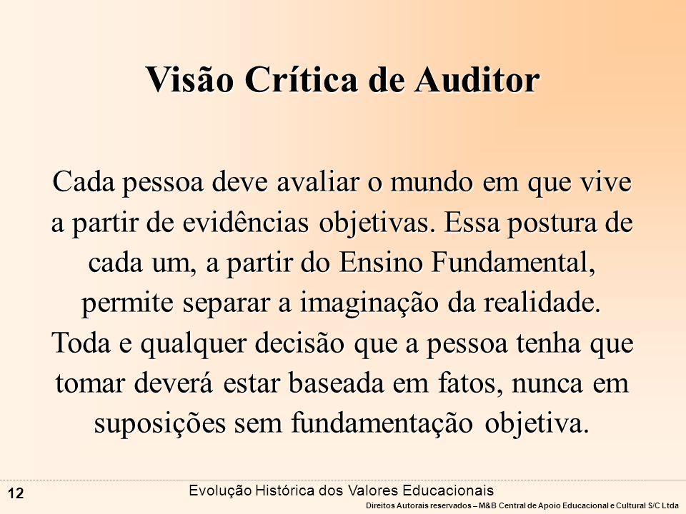 Visão Crítica de Auditor