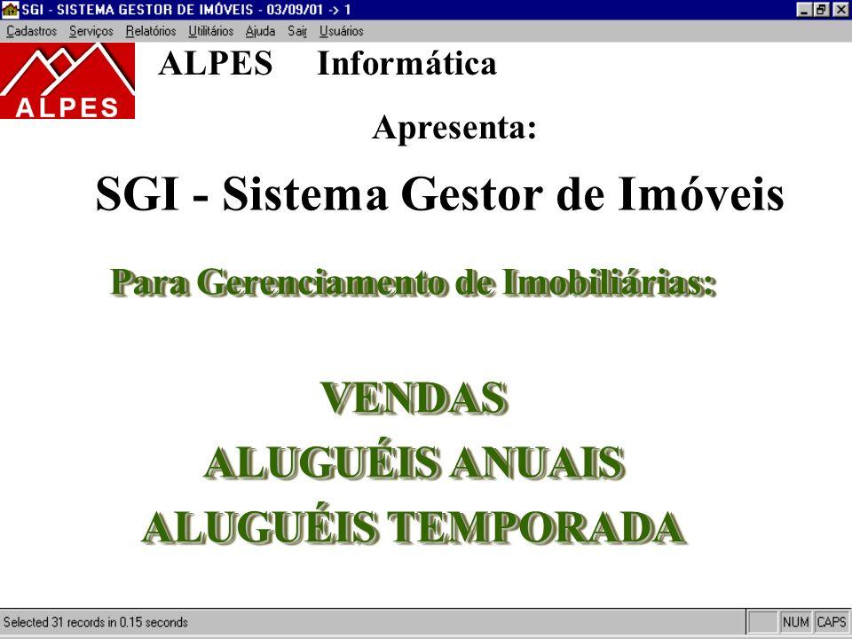SGI - Sistema Gestor de Imóveis