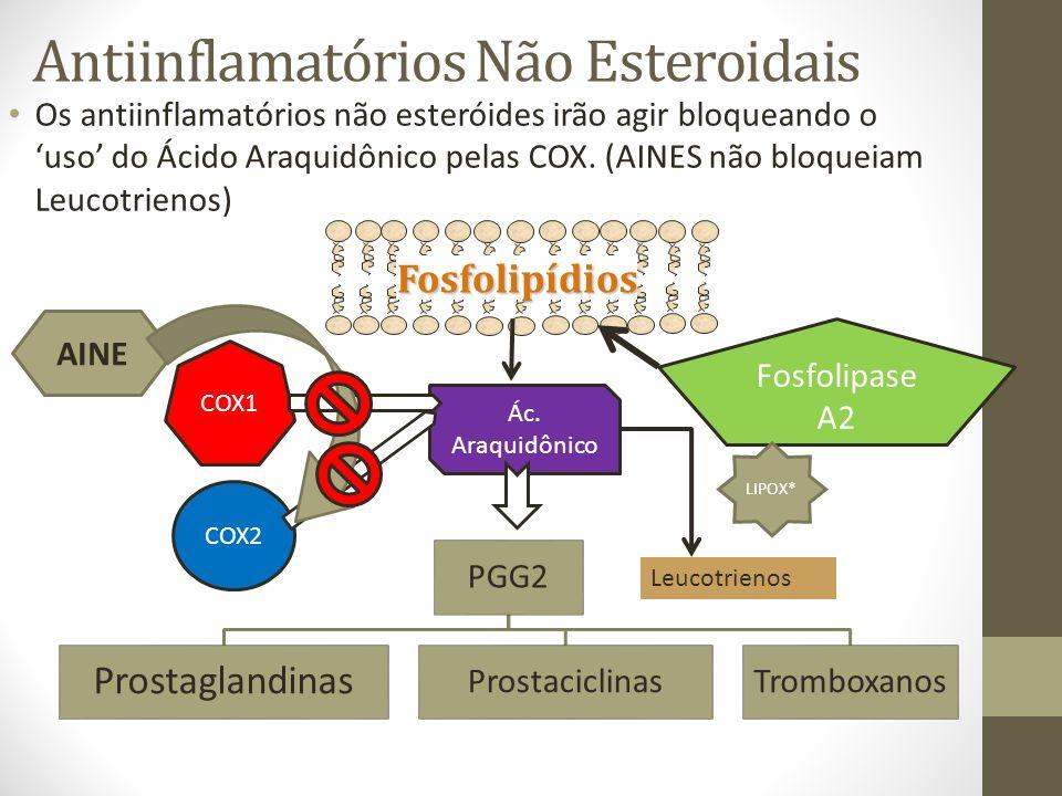 Antiinflamatórios Não Esteroidais
