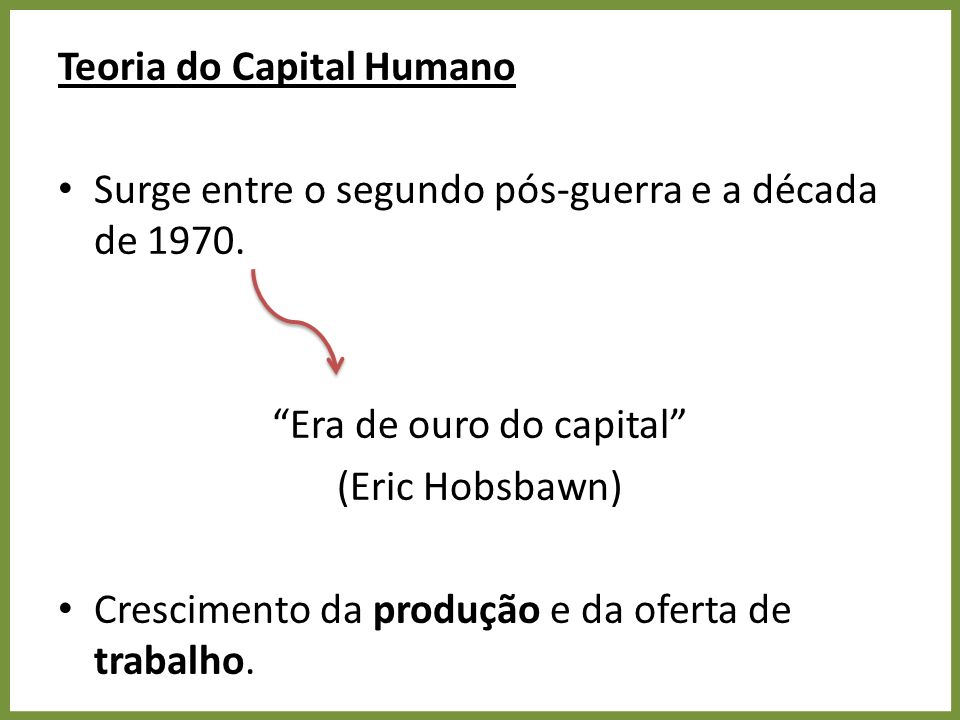 Era de ouro do capital