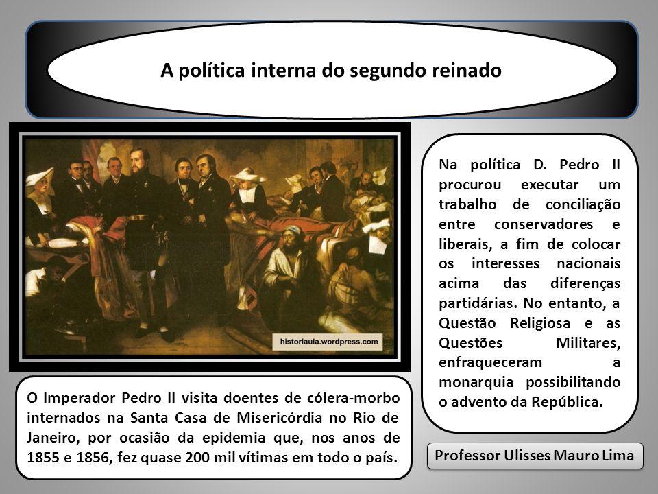 A política interna do segundo reinado Professor Ulisses Mauro Lima