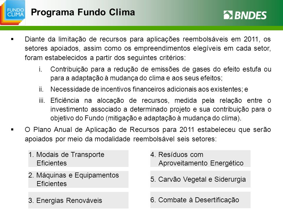 Programa Fundo Clima