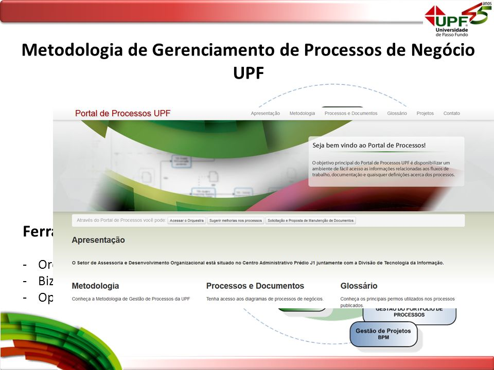 Metodologia de Gerenciamento de Processos de Negócio UPF