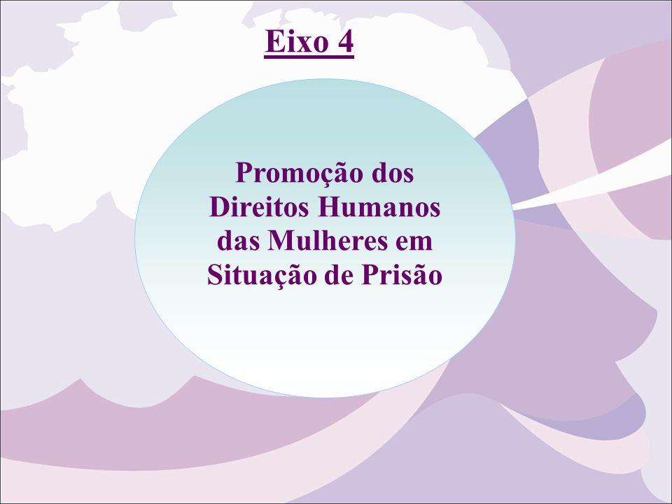 Promoção dos Direitos Humanos das Mulheres em Situação de Prisão