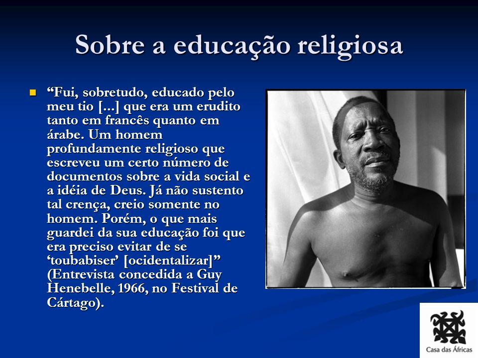 Sobre a educação religiosa