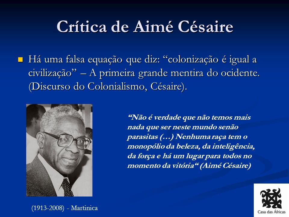 Crítica de Aimé Césaire