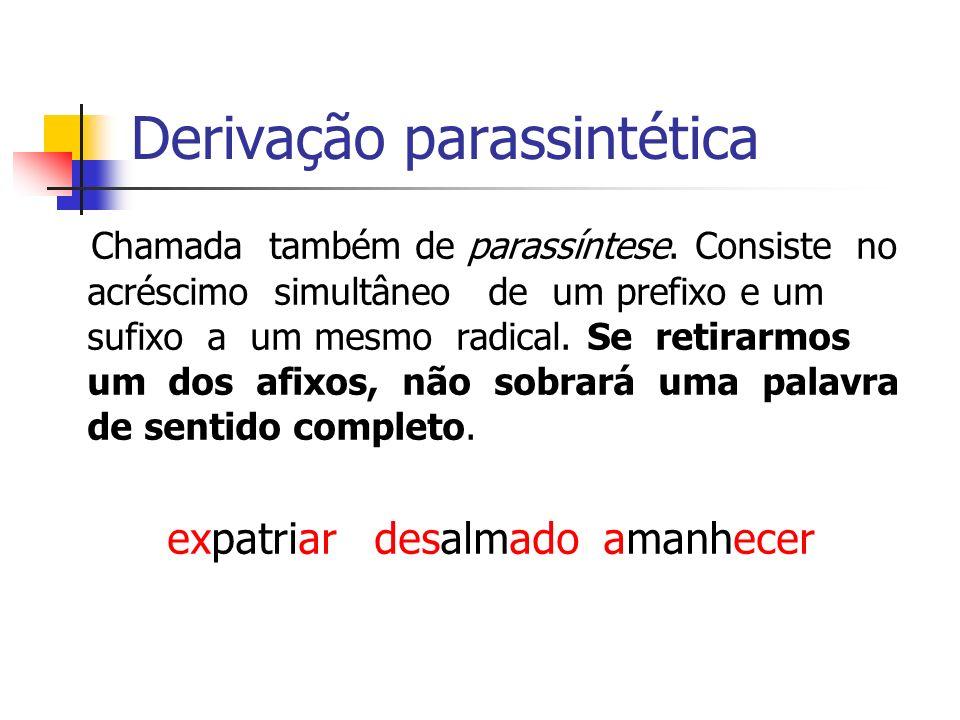 Derivação parassintética