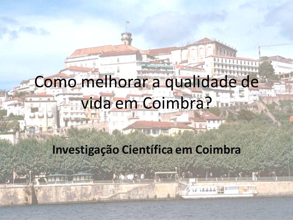 Como melhorar a qualidade de vida em Coimbra