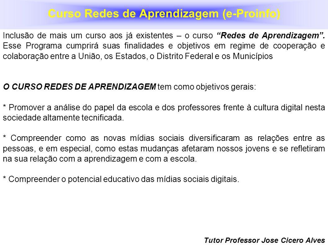 Curso Redes de Aprendizagem (e-Proinfo)