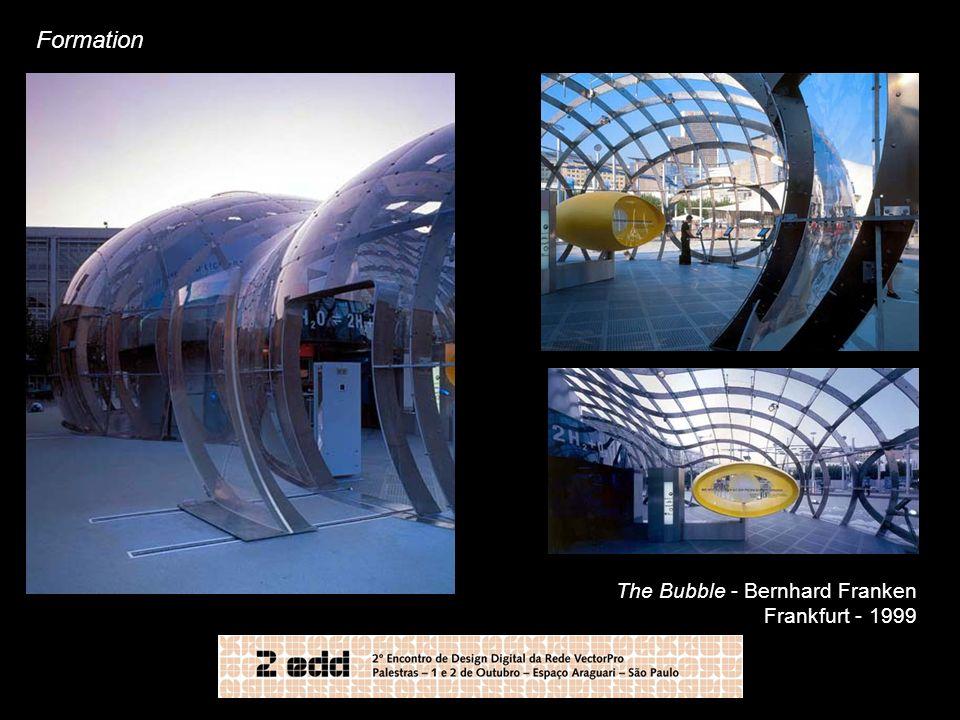 Formation The Bubble - Bernhard Franken Frankfurt - 1999