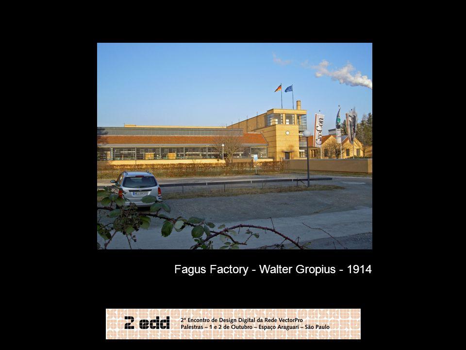 Fagus Factory - Walter Gropius - 1914