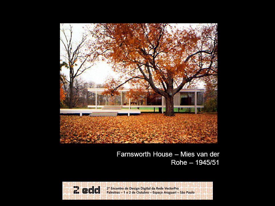 Farnsworth House – Mies van der Rohe – 1945/51