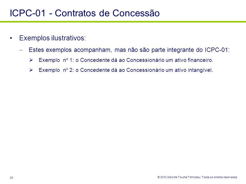 ICPC-01 - Contratos de Concessão