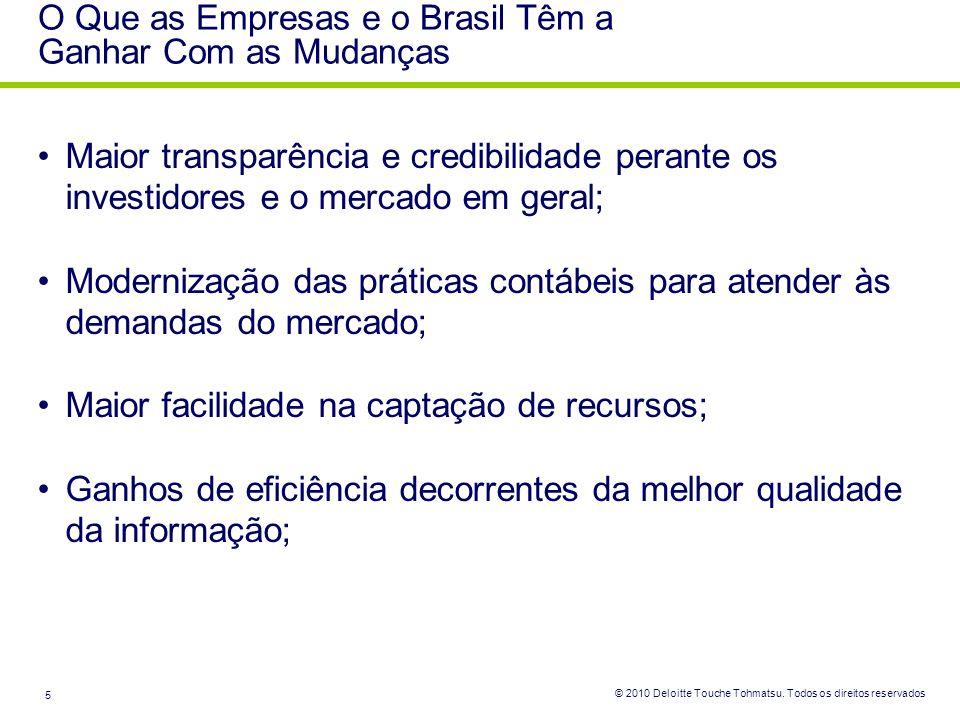 O Que as Empresas e o Brasil Têm a Ganhar Com as Mudanças